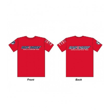 Infinity Team Usa T-Shirt Red Size M