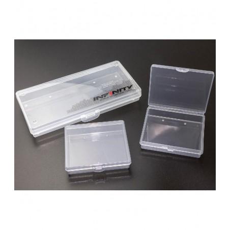 Infinity plastic parts case 41x77x22mm