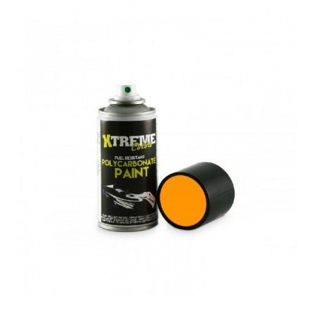 Pintura Xtreme spray Naranja Fluorescente carrocerias Lexan 150ml