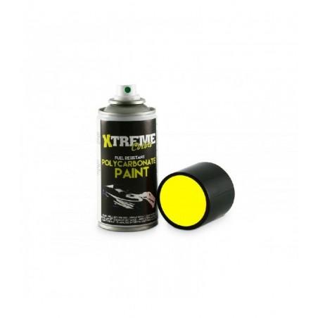 Pintura Xtreme spray Amarillo Fluorescente carrocerias Lexan 150ml