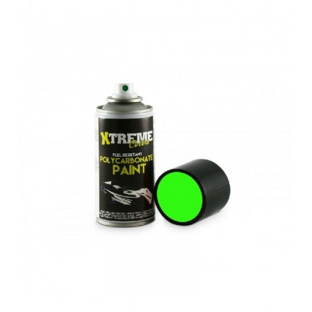 Pintura Xtreme spray Verde Fluorescente carrocerias Lexan 150ml