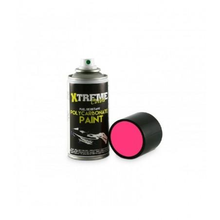 Pintura Xtreme spray Rosa Fluorescente carrocerias Lexan 150ml