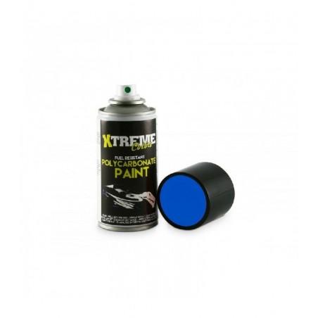Pintura Xtreme spray Azul Fluorescente carrocerias Lexan 150ml