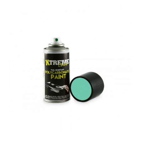 Xtreme RC body lexan Paint Blue Green 150ml