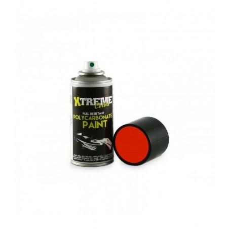 Pintura Xtreme spray Rojo carrocerias Lexan 150ml