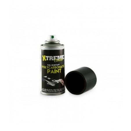 Pintura Xtreme spray Negro carrocerias Lexan 150ml