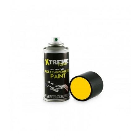 Pintura Xtreme spray Amarillo carrocerias Lexan 150ml