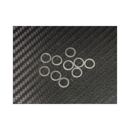 6x8mm Shim Set 0.1mm - 0.2mm - 0.3mm x10 pcs each