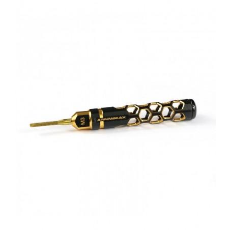 AM-190051 M3 Taper Tap Black Golden Arrowmax