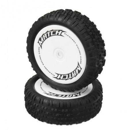 Front tires set WLToys 104001 x2 pcs