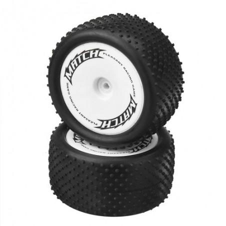 Rear tires set WLToys 104001 x2 pcs