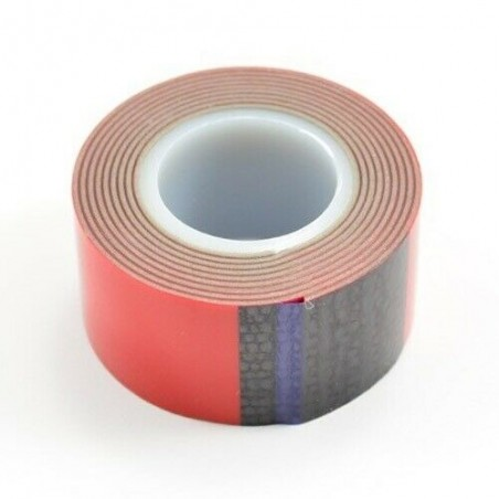 Double Side tape roll 25mm x1 Meter Fastrax