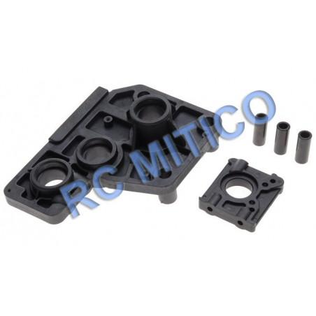 50011 - Center Differential Mount Set 1/5 HSP Bajer