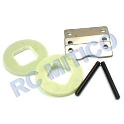 50023 - Discos y zapatas de freno con pasadores