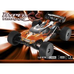 Truggy HoBao Hyper SS RTR 1/8 + 1L 16% Combutible