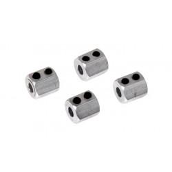 08065 - Wheel Hex x 4 piezas