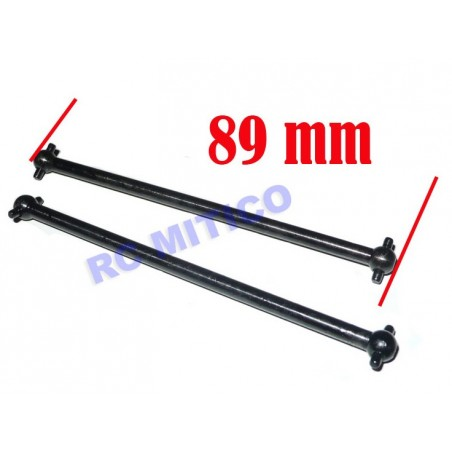 08029 - Transmission shaft 89mm x2 pcs