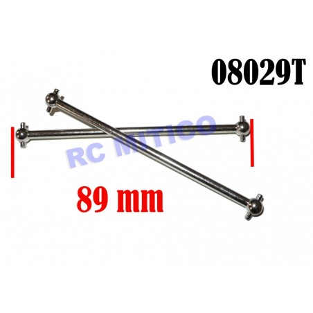 08029T - Transmission shaft 89mm x2 pcs