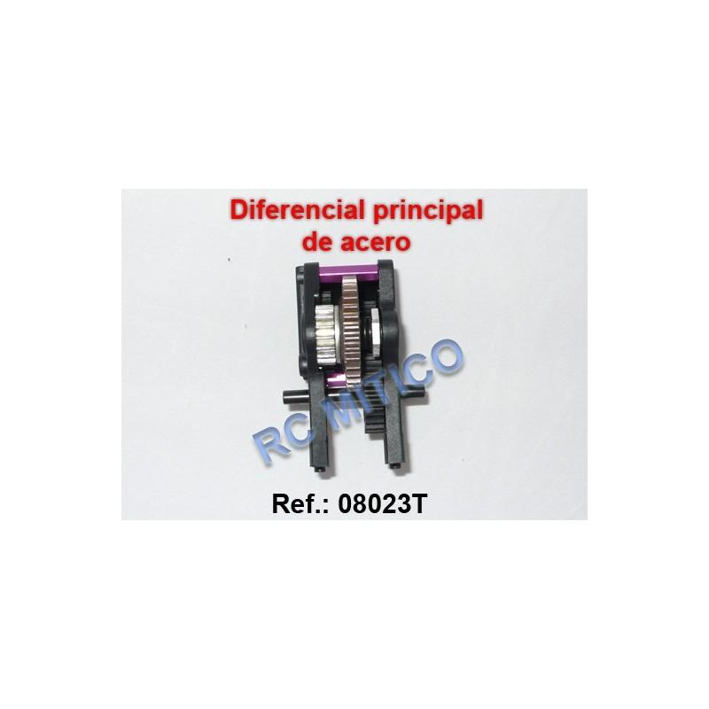 08023T - Caja de cambios central - ACERO
