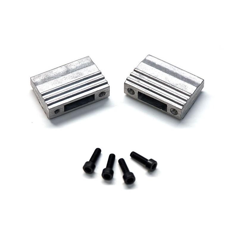 02049 - Engine Holder + cap screws HSP 1/10