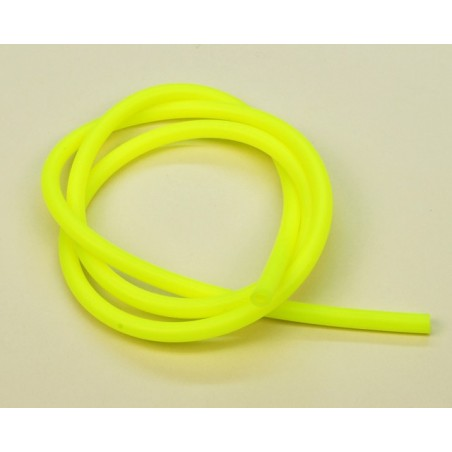 02058 -  Silicon Fuel Line (Yellow) - 1 Meter