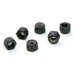 02102 - Nylon Nuts M3 - Tuercas M3 x 6 uds.