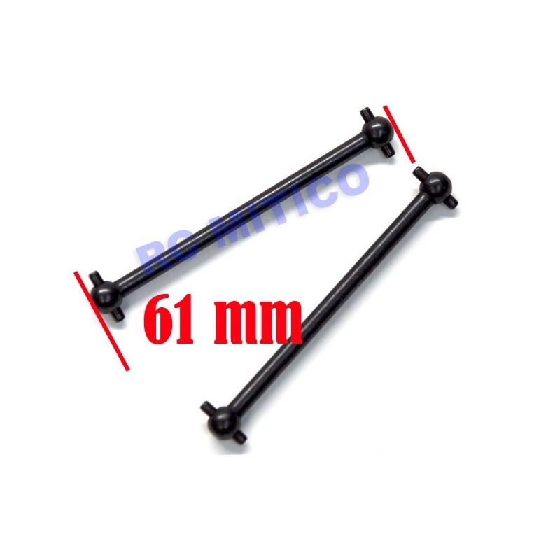 02003 - Center Rear Dogbone 61 mm x2 uds.