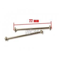 06006T - Transmission shaft 77 mm x2 pcs