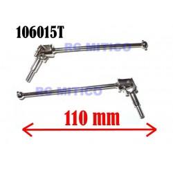 106015T - Universal joint 110mm x2 pcs