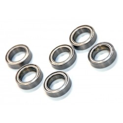02138 - Ball bearing 15x10x4 mm - Rodamientos x8 uds.