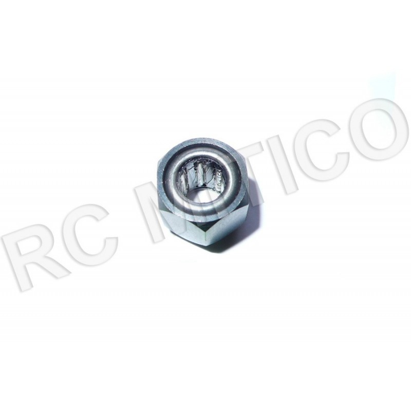 R025 - One Way Hex Bearing with nut 12 mm