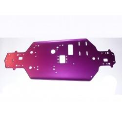 02001E - Chasis de Aluminio para Xeme - PISTA BRUSHLESS