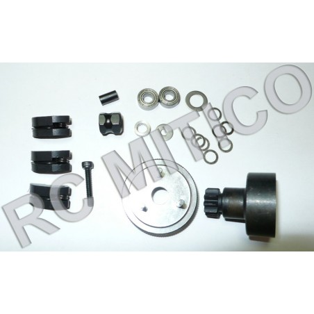 83003 - Clutch system set complete for 1/8 Truggy HSP