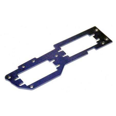 81009 - Placa soporte servos Aluminio HSP Bazooka