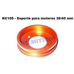 KC105 - Soporte para Motor 36/40mm - ALUMINIO