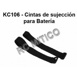 KC106 - Battery strap x2 pcs