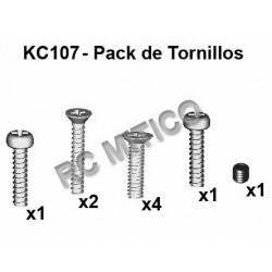 KC107 - Pack de tornillos 1