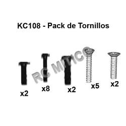 KC108 - Pack de tornillos 2