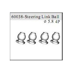 60038 - Steering Link Ball O5.8 mm x4 uds.