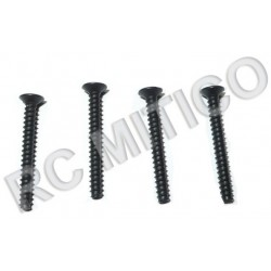 02090 / 60085 - Countersunk Self-tapping 3x25b - 4 uds.