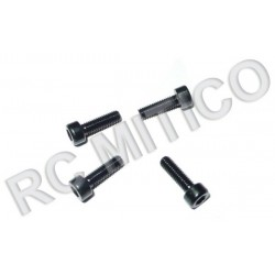 60074 - Column Head Mechanical Screw 3x10 - 4 Uds.