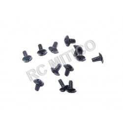 60077 - Cap Head Self-tapping Screw 3x6 - 12 uds.