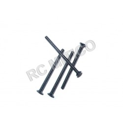 60084 - Countersunk Self-tapping Screw 3x40 - 4 ud