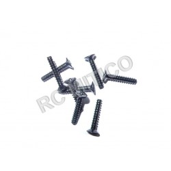 60091 - Countersunk Self-tapping Screw 3x16 mm - 8 uds.