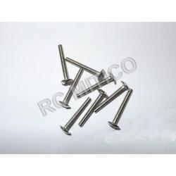 61021 - Cap Head Mechnical Screw 2.5x20 - 8 uds.