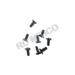 61023 - Countersunk Self-tapping Screw 3x8 mm - 8 ud