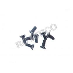 61024 - Countersunk Mechnical Screw 3x8 mm - 8 uds.