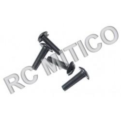 85020 - Cap Head Mechanical Screws 3x12 mm x4 uds.