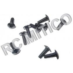 86070 - Cap Head Self Tapping Screws 2.6x8 mm - 10 uds