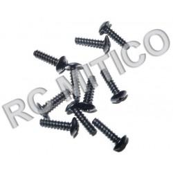 86071 - Cap Head Self Tapping Screws 2.6x10 mm - 10 uds.